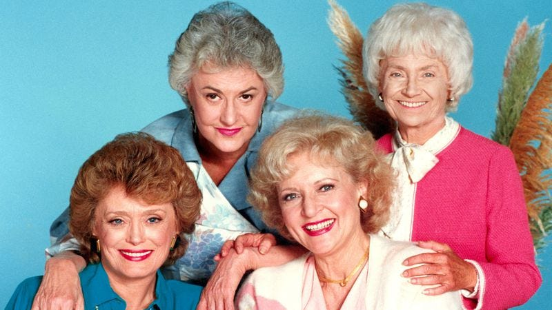 Illustration for article titled The Golden Girls made aging fabulous