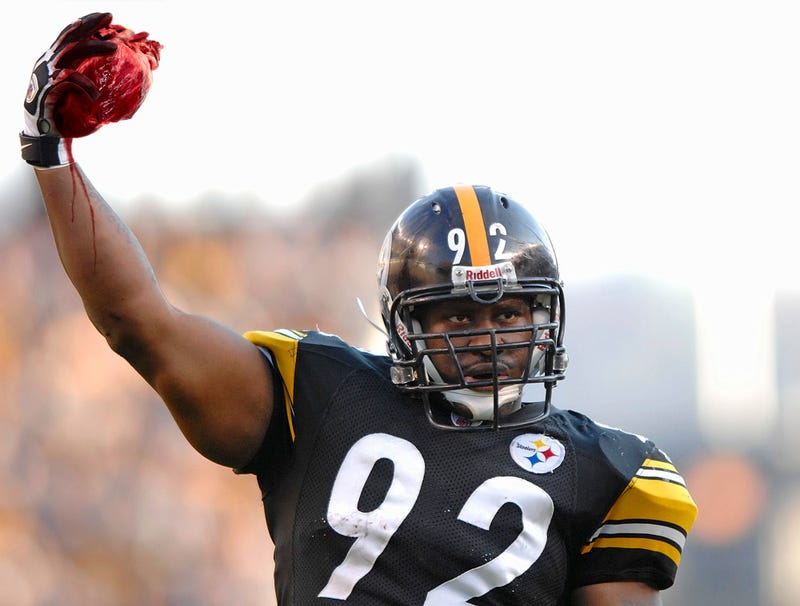 Illustration for article titled James Harrison Comes Up From Bottom Of Pile With Human Heart