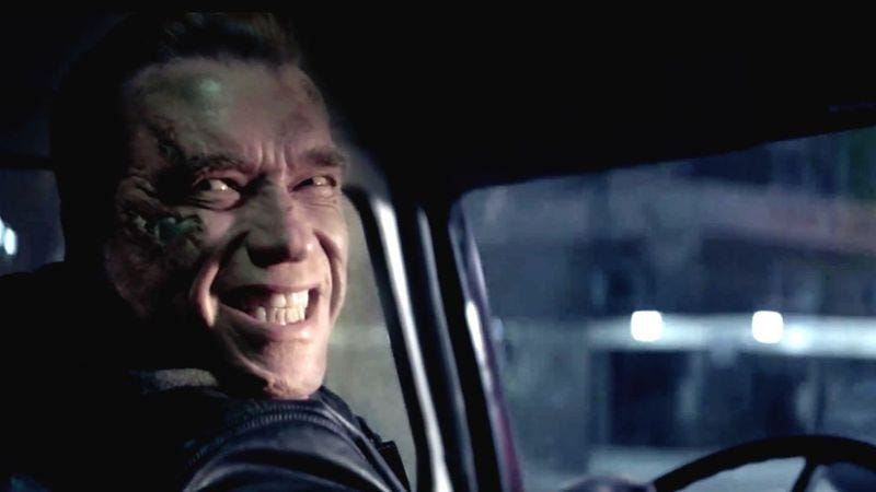 Only Arnold and China smiled upon Terminator Genisys