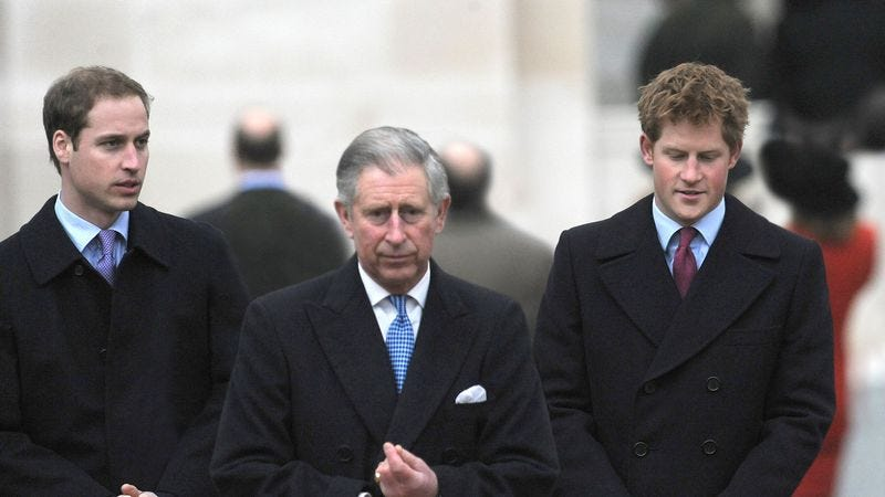 Illustration for article titled Prince Charles Thinks Boys Are Finally Old Enough To Hear What Happened To Their Mother