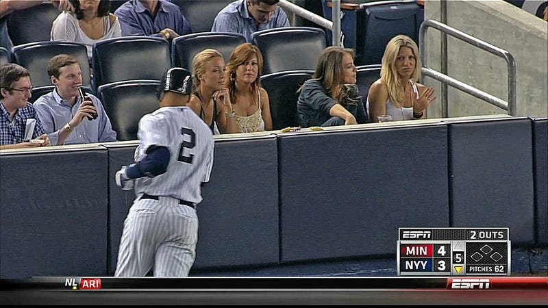 Illustration for article titled Here's The Only Woman In New York Unimpressed By Derek Jeter