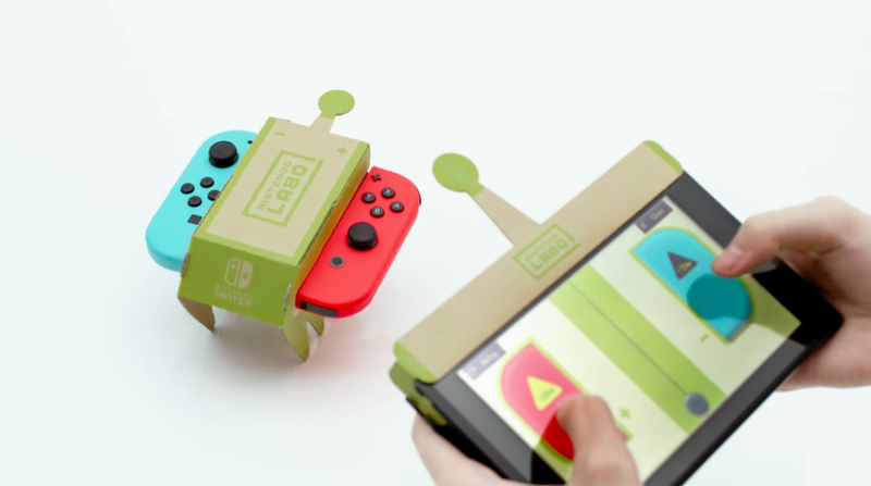Illustration for article titled Nintendo Labo Will Let You Program Your Own Custom Robots
