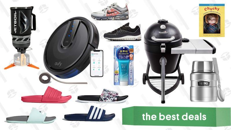 Illustratie voor artikel getiteld Friday's beste deals: Backcountry, Eufy Robovac, Charbroil, Jetboil en meer