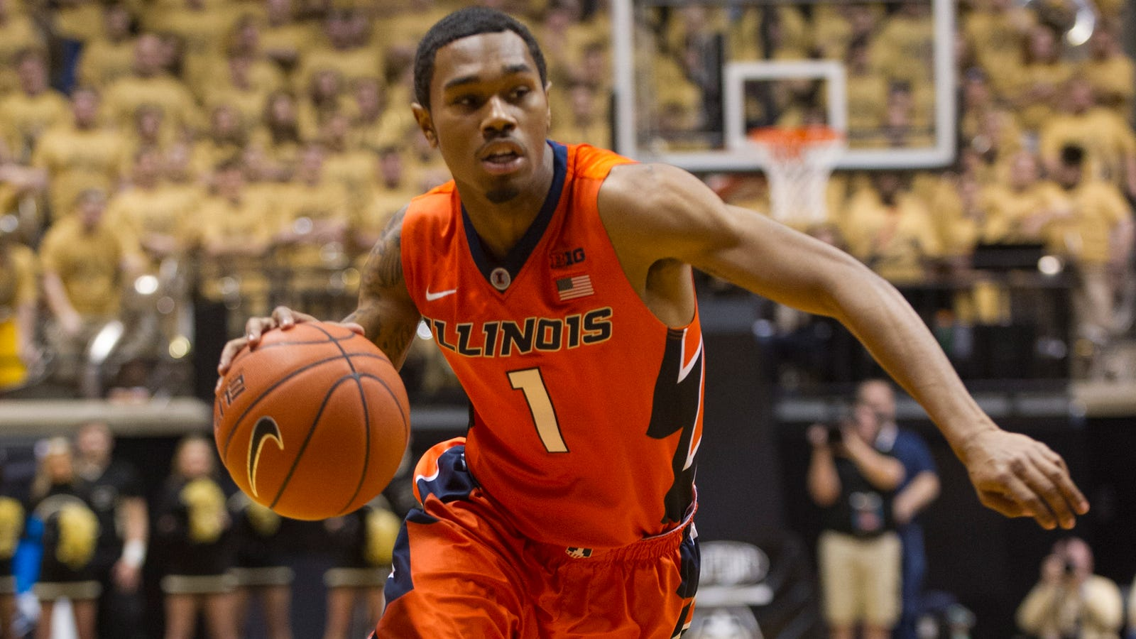 Report: Illinois Basketball Player Jaylon Tate Arrested For Punching