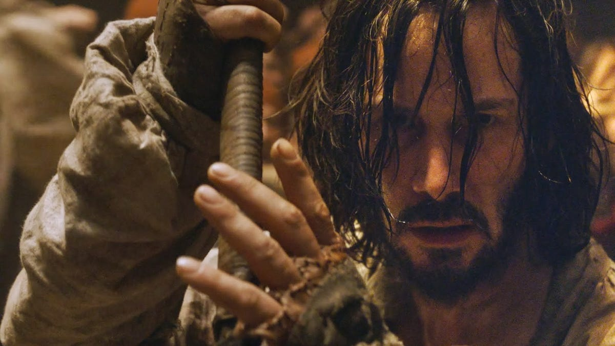Keanu Reeves' new movie has 47 problems, but the Ronin ain't one