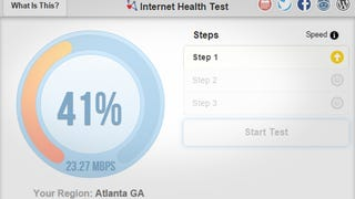 Illustration for article titled Internet Health Test Checks to See if Your ISP Slows Your Connection