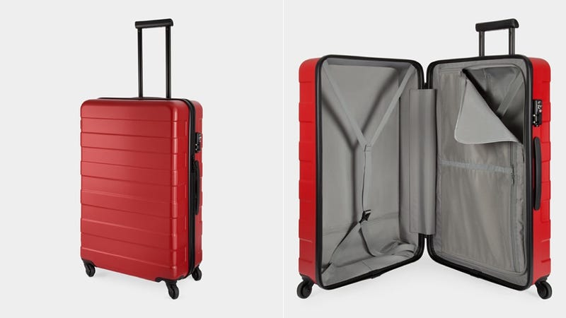 A MUJI Hard-Cover Suitcase Is Your Excuse For a Vacation