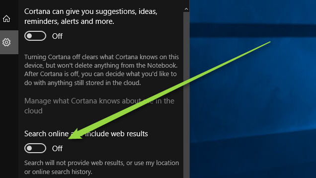 How To Disable Bing Search In Windows 10 S Start Menu