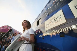 GOP presidential candidate Michele Bachmann (Getty Images)