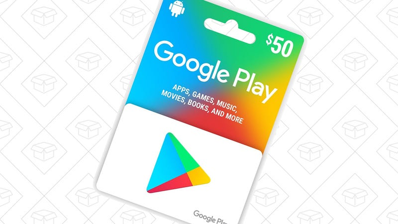 $50 Google Play Gift Card, $45