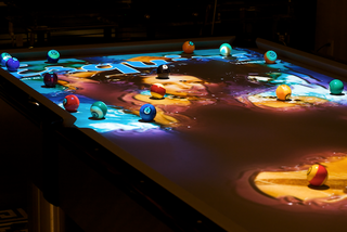 Illustration for article titled Obscura CueLight Pool Table Is $200,000 Worth of Fancy