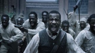 The cast of 2016's The Birth of a Nation—a movie written and directed by, and starring, Nate Parker (center)—which tells the story of slave-rebellion leader Nat Turner IMDb
