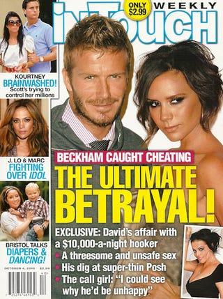 Illustration for article titled David Beckham Plans To Sue Over Hooker Story