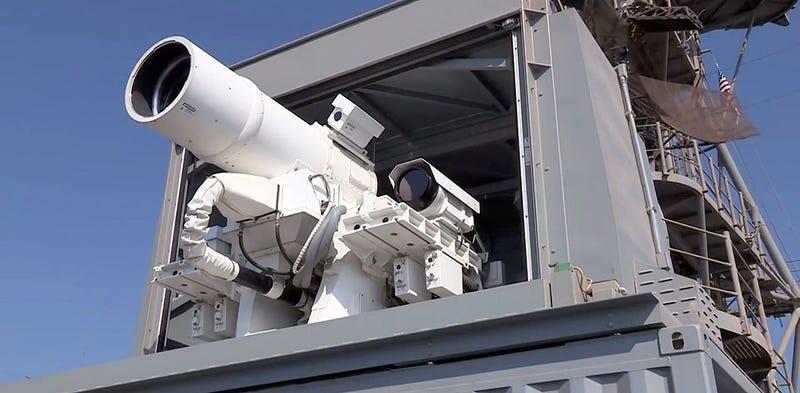 Illustration for article titled Disparar una vez con este letal cañón láser solo cuesta 59 céntimos