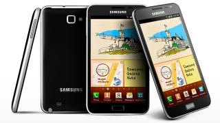 Illustration for article titled Leaked Specs of the Samsung Galaxy Note 2 Show an Even More Gigantic Screen