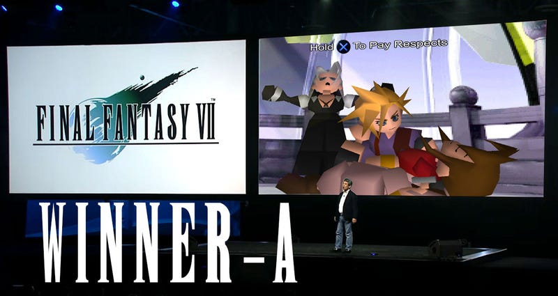 Illustration for article titled Kotaku'Shop Contest: The WorstFinal Fantasy VIIAnnouncement: Winners!