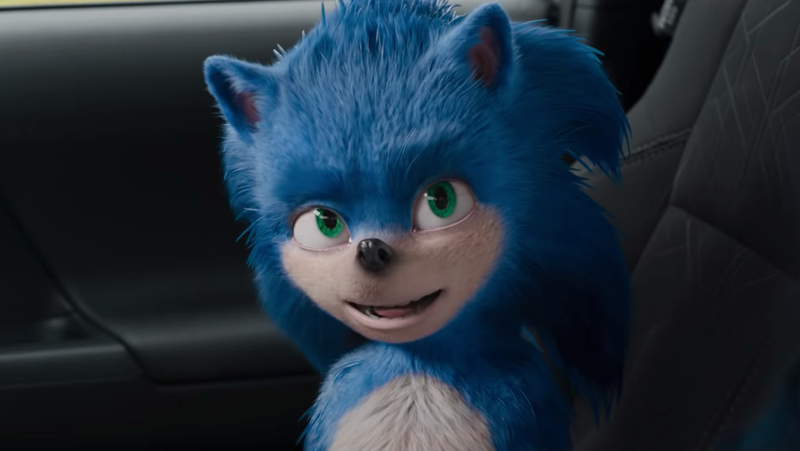 "Sonic, buddy, you've got a little ""face"" on your face."