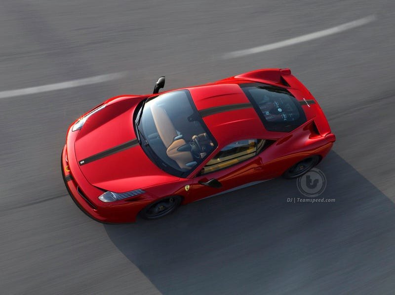 Illustration for article titled 600hp Ferrari 458 Scuderia to Appear at Frankfurt Motor Show