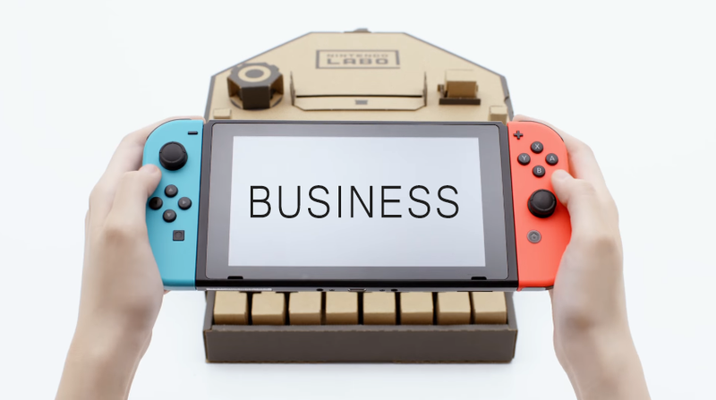 Illustration for article titled This Week In The Business: Nintendo Enjoys The Fruits Of Its Labo