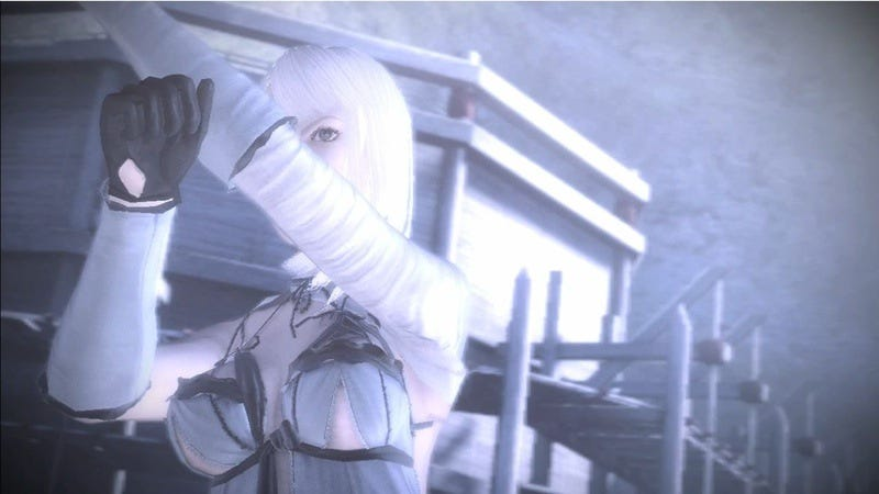 Illustration for article titled NieR Screenshot Shows More Flesh Than It Should?