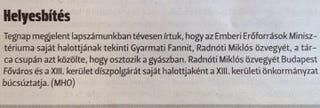 Illustration for article titled Az EMMI az év legszánalmasabb helyesbítését kérte Radnótiné miatt