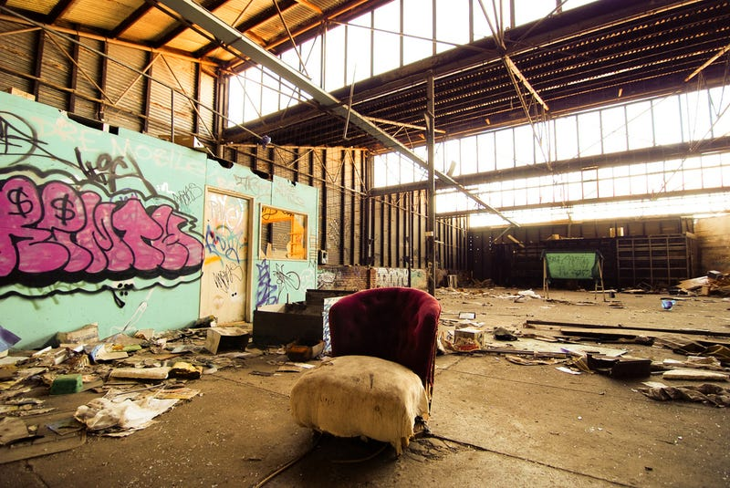 These Abandoned Toy Factories And Shops Will Haunt Your