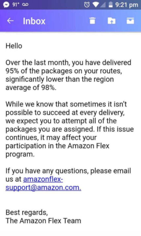 Amazon's Last Mile