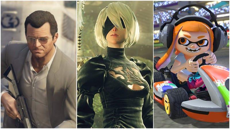 [Image: Rockstar | Square Enix | Nintendo]