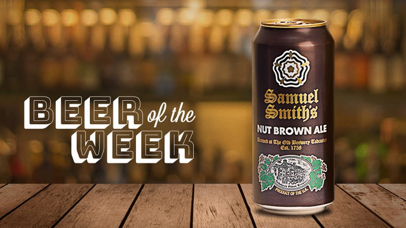 Beer Of The Week: Samuel Smith's Nut Brown Ale is one of the best food-pairing beers