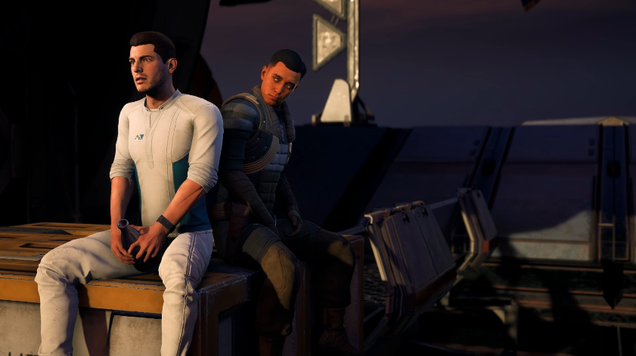 underwhelming gay romance options in mass effect andromeda disappoint many fans