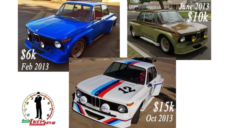 Illustration for article titled This BMW 2002 Widebody Gets Sold More Often Than A Roma Gypsy Kid