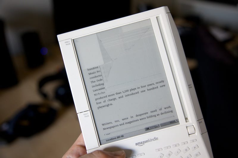 Illustration for article titled Kindle DRM Surfaces To Deny User the Books He's Bought and Paid For