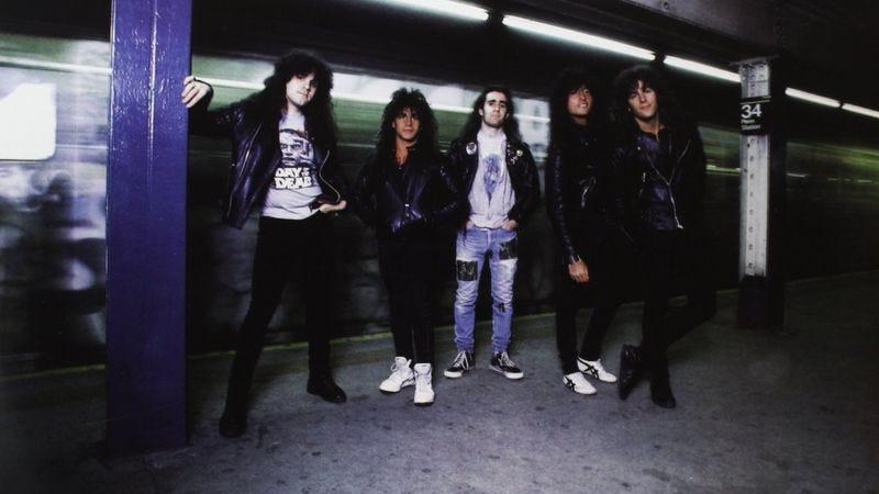 Illustration for article titled Anthrax's ode to Judge Dredd became thrash metal's missing link