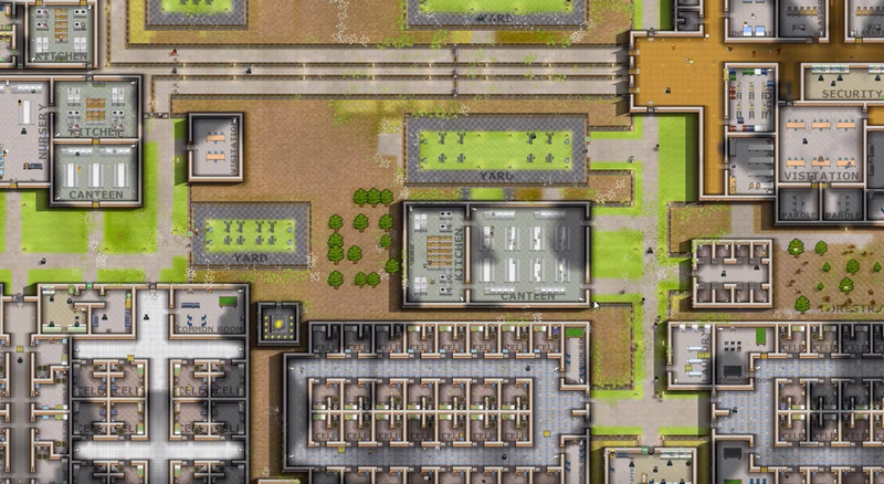 Illustration for article titled Prison Architect's Surprise Update Makes Guards More Human