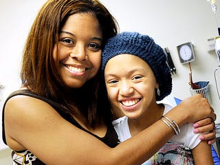 Shannon Tavarez and her mother, Odiney Brown
