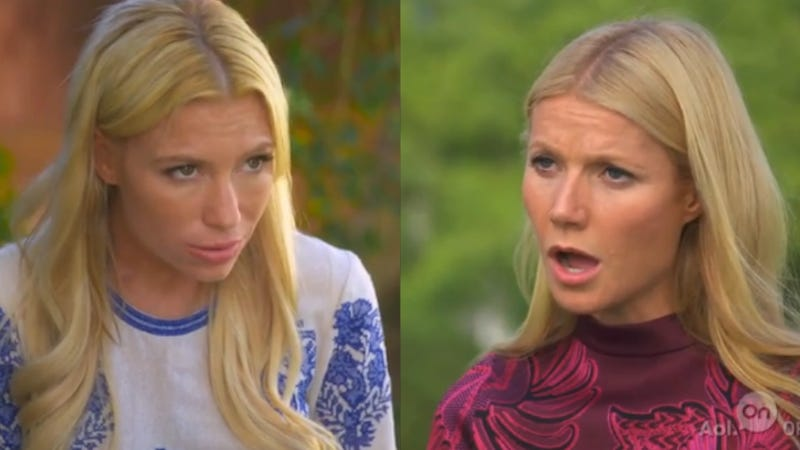 Illustration for article titled Gwyneth and Tracy Anderson's New Series Is All About Concern Faces