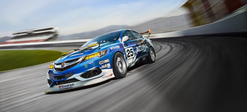 Illustration for article titled Acura Wants To Dominate The 25 Hours Of Thunderhill With An ILX