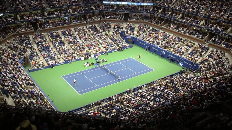 Illustration for article titled U.S. Open Organizers Apologize For Obscene Amounts Of Tennis