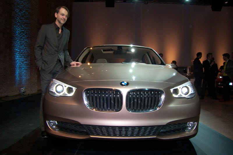 Illustration for article titled BMW 5-Series GT Concept: Giving Bangle's Rear A Lift