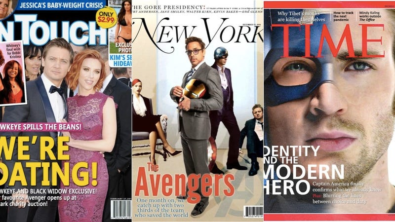 Illustration for article titled What would the newsstands look like if The Avengers were real?