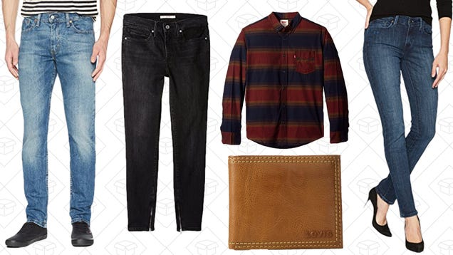 Put on Some New Pants With Amazon s One-Day Levi s Sale