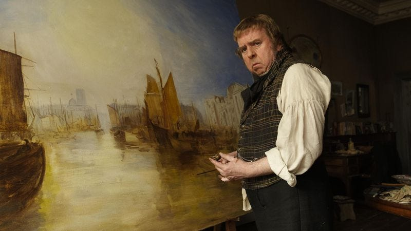 Illustration for article titled Cannes '14, Day Two: Mike Leigh makes another biopic, Mr. Turner