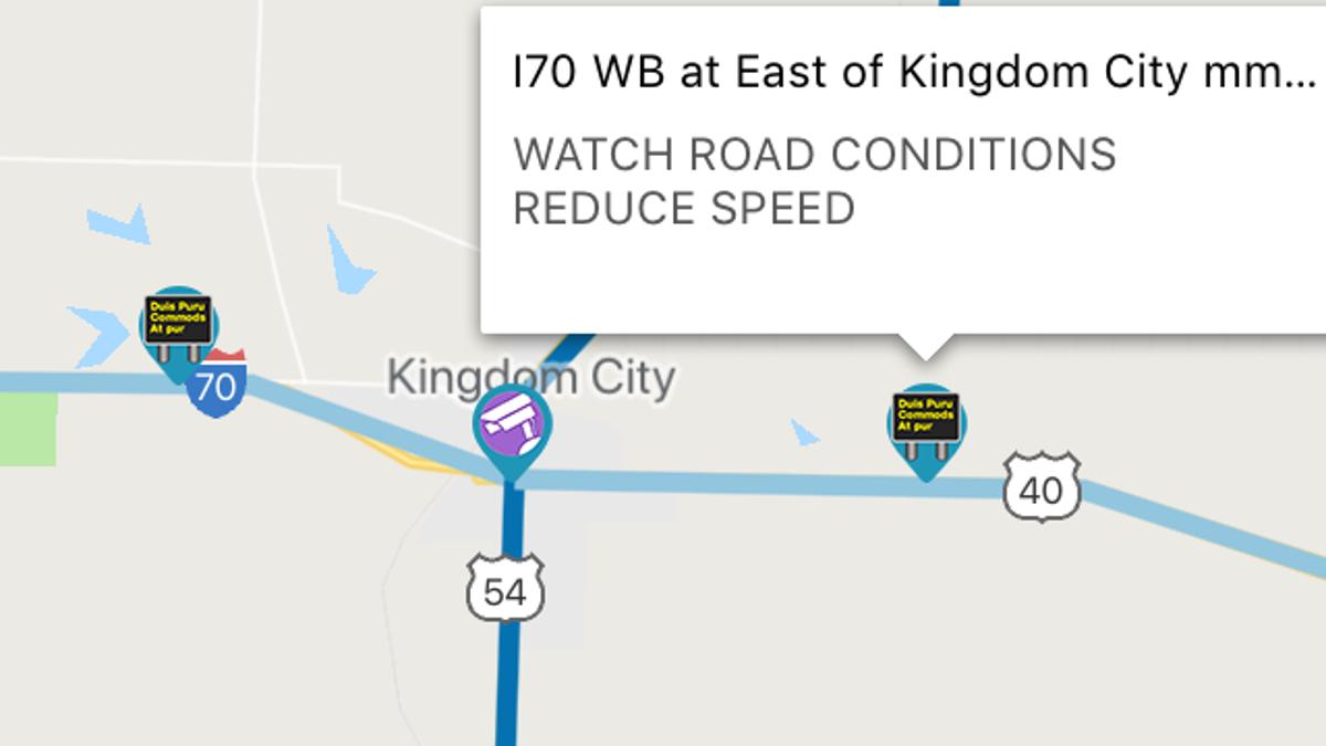 Missouri DOT travel info & LIVE highway cameras