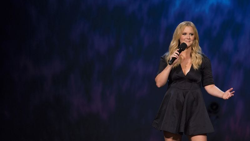 Illustration for article titled Amy Schumer evolves at the Apollo