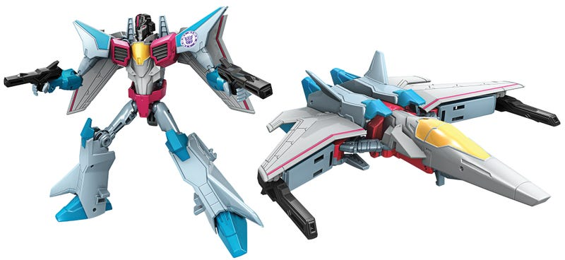 Illustration for article titled The New Robots in Disguise Toys Are Inspired by the '80s Transformers You Grew Up With