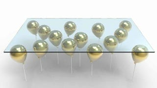Illustration for article titled Floating Balloon Coffee Table Is a Whimsical Way To Get Sued By Disney