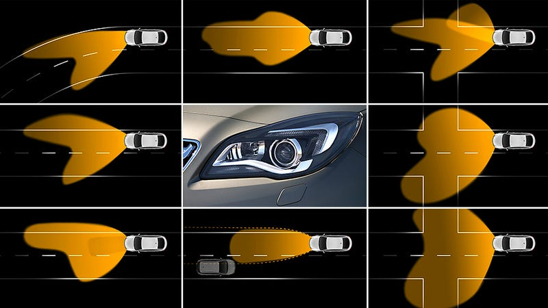 Illustration for article titled GM Is Developing Smarter Headlights That Will Follow a Driver's Gaze