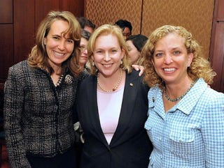 Illustration for article titled Giffords Opens Her Eyes, Sees A Room Full Of Strong Women