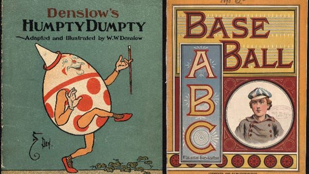 Read Rare Classic Children s Books for Free Through the Library of Congress