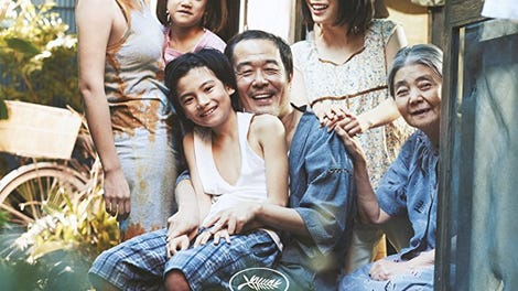 This year's big Cannes winner, Shoplifters, is an affecting ode to